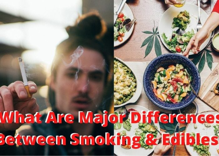 What Are Major Differences Between Smoking & Edibles?